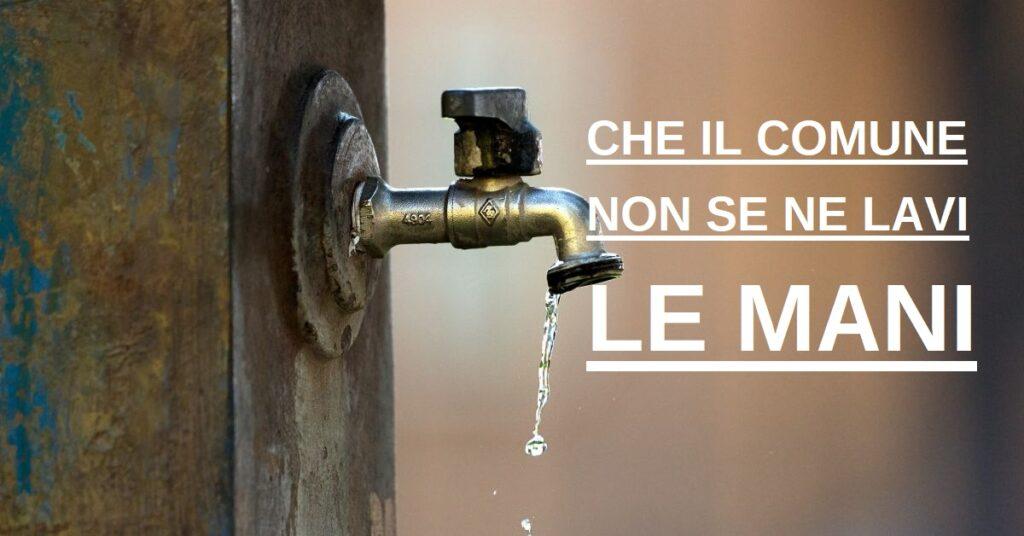 servizio idrico acqua siracusapress