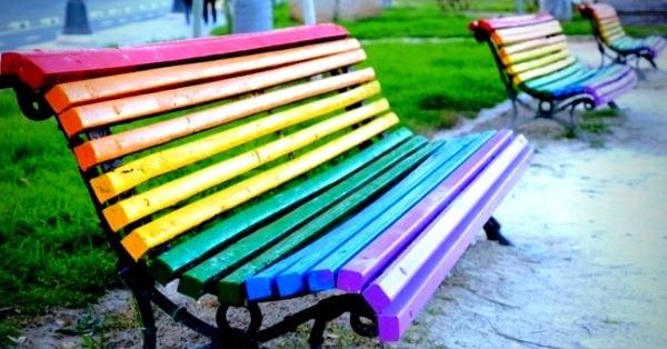 panchina rainbow siracusapress