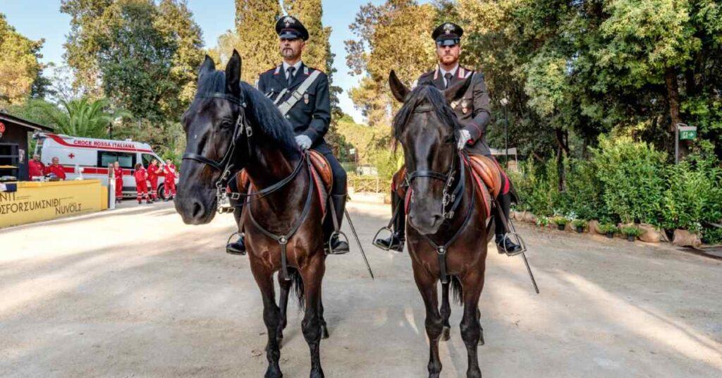 carabinieri a cavallo siracusapress